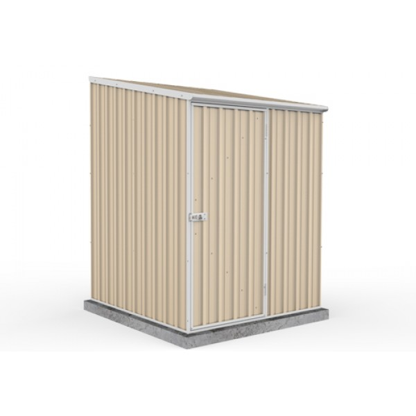Absco Colorbond Skillion Garden Shed Small Garden Sheds 1.52m x 1.52m x 2.08m 15151SK