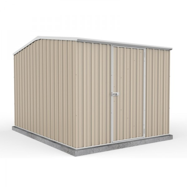 Absco Colorbond Gable Garden Shed Medium Garden Sheds 2.25m x 3.00m x 2.06m 23301GK