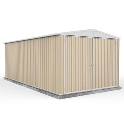 Absco Colorbond Double Door Gable Garden Shed Large Garden Sheds 3.00m x 4.48m x 2.30m 3045HK