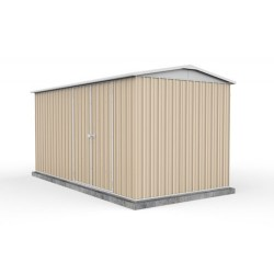 Absco 45232HK 4.48m x 2.26m x 2.30m Gable Workshop Shed Extra Large Workshop Sheds Colorbond