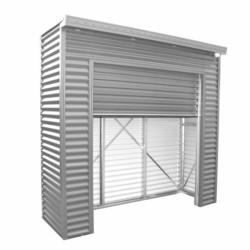 Spanbilt Smartlocker Lockaway 800 Zinc 2.40m x 0.80m x 2.315m Medium Garden Sheds