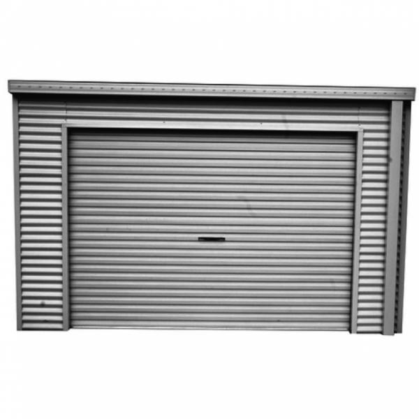 Spanbilt Smartlocker Lockaway 1100 Zinc 3.655m x 1.10m x 2.34m Large Garden Sheds