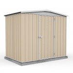 Absco Colorbond Gable Garden Shed Medium Garden Sheds 2.26m x 1.44m x 2.00m 23141RK