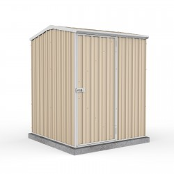 Absco Colorbond Gable Garden Shed Small Garden Sheds 15151GK 1.52m x 1.52m x 1.95m