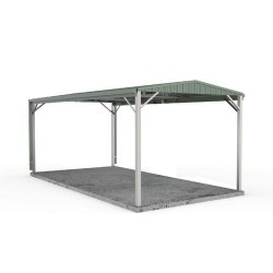 Single Gable Roof Carport
