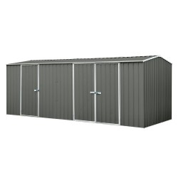 Absco Colorbond Eco-Nomy Gable Workshop Shed 5.22m x 2.66m x 2.06m 52233WECOK