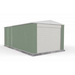 Absco 3060HGK 3.00m x 5.96m x 2.30m Gable Highlander Shed Large Sheds Colorbond Double Door