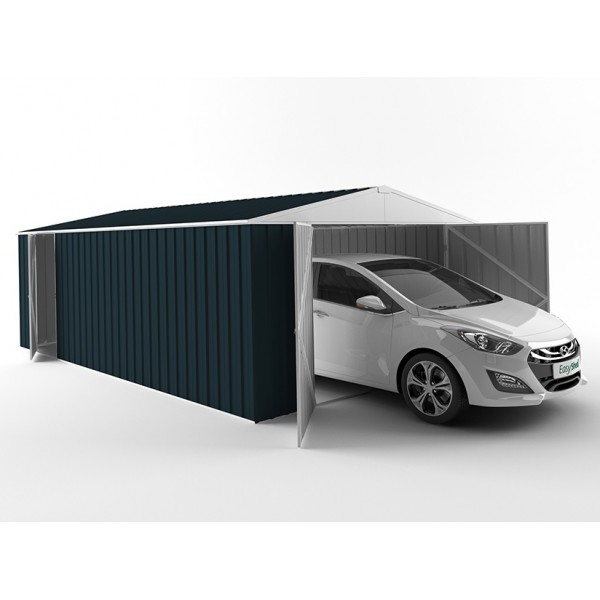 EasyShed Colour Garage Shed Single Garages 7.50m x 3.00m x 2.10m EGAR7530