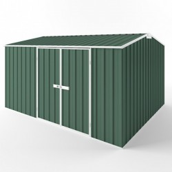 EasyShed Colour Gable Roof Garden Shed Large Garden Sheds 3.75m x 3.00m x 2.40m ETG-D3830