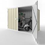 EasyShed Skillion Garden Locker 2.08m x 0.97m x 1.31m EGL-2110