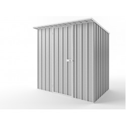 EasyShed Zinc Skillion Roof Garden Shed Medium Garden Sheds 2.25m x 1.50m x 2.10m ESS2315