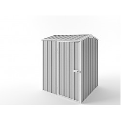 EasyShed Zinc Gable Garden Shed Small Garden Sheds Pinnacle 1.50m x 1.50m x 2.27m EPS1515