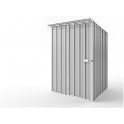 EasyShed Zinc Skillion Roof Garden Shed Small Garden Sheds 1.50m x 1.90m x 2.10m ESS1519