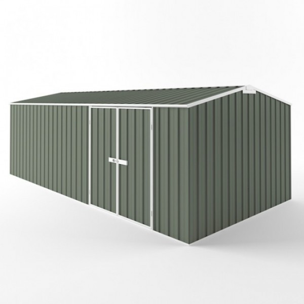 EasyShed Gable Truss Roof Workshop Garden Shed Extra Large Garden Sheds 6.00m x 3.00m x 2.40m ETT-D6030