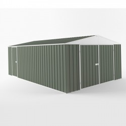 EasyShed Colour Garage Shed Single Garages 7.50m x 3.00m x 2.40m ETGAR-7530