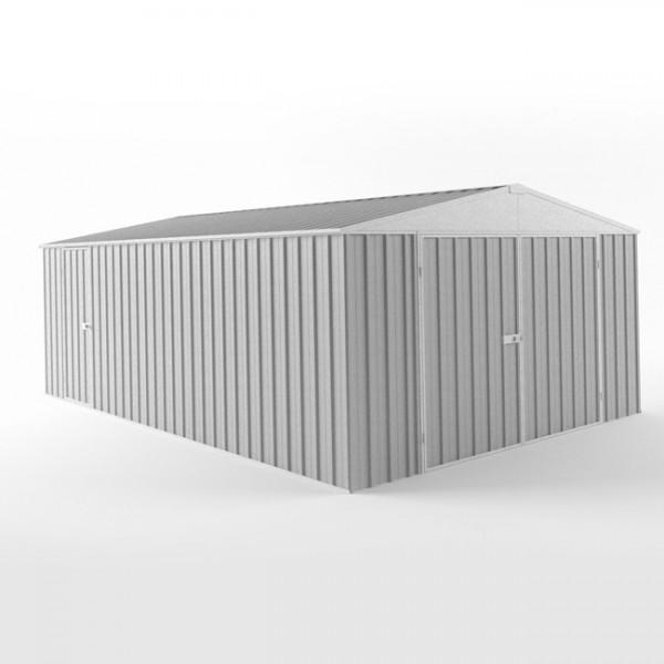 EasyShed Zinc Garage Shed Single Garages 7.50m x 3.00m x 2.40m ETGAR-7530