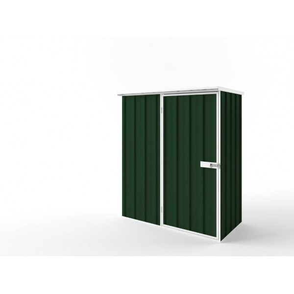 EasyShed Flat Roof Garden Shed Small Garden Sheds 1.52m x 0.78m x 1.82m EF-S1508
