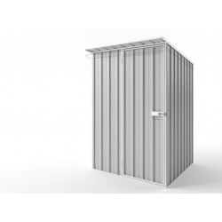 EasyShed Skillion Roof Garden Shed Small Garden Sheds 1.50m x 1.50m x 2.10m ES-S1515