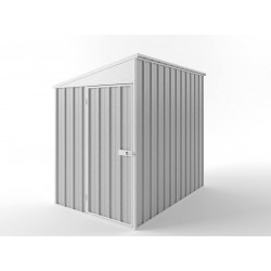EasyShed Colour Skillion Roof Garden Shed Small Garden Sheds 1.50m x 3.00m x 2.10m ESS1530