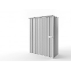 EasyShed Flat Roof Garden Shed Small Garden Sheds 1.52m x 0.78m x 2.12m ETF-S1508