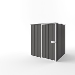 EasyShed Flat Roof Garden Shed Small Garden Sheds 1.50m x 1.50m x 1.82m EF-S1515