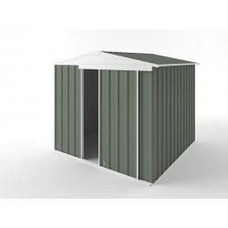 EasyShed Colour Gable Roof Garden Shed Medium Garden Sheds 2.25m x 2.25m x 2.05m EGS2323