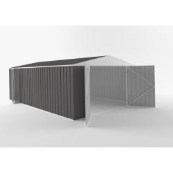 EasyShed Colour Garage Shed Single Garages 4.50m x 3.00m x 2.40m ETGAR-4530