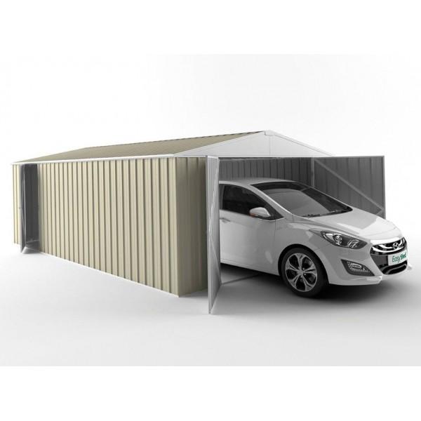 EasyShed Colour Garage Shed Single Garages 7.50m x 3.00m x 2.40m ETGAR-7530
