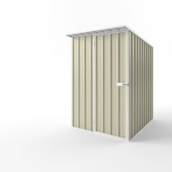 EasyShed Skillion Roof Garden Shed Small Garden Sheds 1.50m x 1.90m x 2.10m ES-S1519