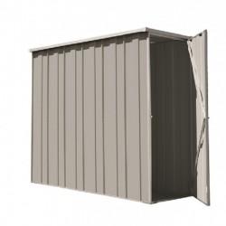Spanbilt Yardsaver Slimline F26-S Zinc 2.105m x 0.72m x 1.80m Flat Roof Garden Shed Medium Garden Sheds