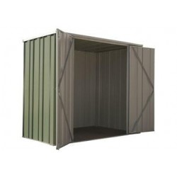 Spanbilt Yardsaver F64-D Spacemaker Colour 2.105m x 1.41m x 1.80m Flat Roof Garden Shed Medium Garden Sheds