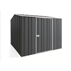 Spanbilt Yardsaver Maxistore G78-S Colour 2.45m x 2.80m x 2.085m Gable Roof Garden Shed Medium Garden Sheds