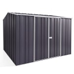 Spanbilt Yardsaver G88-D Zinc 2.80m x 2.80m x 2.085m Gable Roof Garden Shed