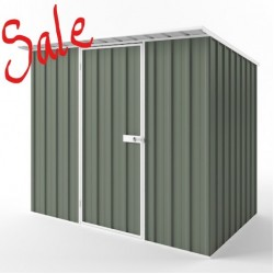 EasyShed SELECTED COLOUR SPECIAL Skillion Roof Garden Shed Medium Garden Sheds 2.25m x 1.50m x 2.10m ESS2315