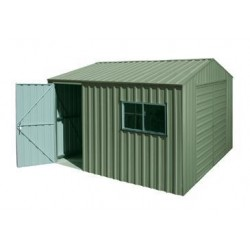 Spanbilt Yardpro Workshop 260B Colour 2.60m x 4.40m x 2.445m Gable Roof Workshop Shed Medium Garden Sheds
