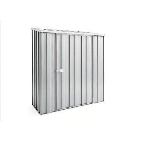 Spanbilt Yardsaver Slimline S53-S Zinc 1.76m x 1.07m x 2.03m Skillion Roof Garden Shed Small Garden Sheds