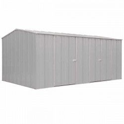 Spanbilt Eco Plus Workshop 1510 Zinc 4.535m x 2.80m x 2.085m Gable Roof Workshop Shed Extra Large Garden Sheds