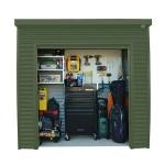 Spanbilt Smartlocker Lockaway 800 Colorbond 2.40m x 0.80m x 2.315m Medium Garden Sheds