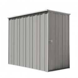 Spanbilt Yardsaver Slimline F36-S Zinc 2.105m x 1.070m x 1.80m Flat Roof Garden Shed Medium Garden Sheds