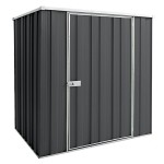 Spanbilt Yardsaver F54-S Spacemaker Colour 1.76m x 1.41m x 1.80m Flat Roof Garden Shed Small Garden Sheds