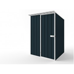 EasyShed Colour  Skillion Roof Garden Shed Small Garden Sheds 1.50m x 1.50m x 2.10m ESS1515