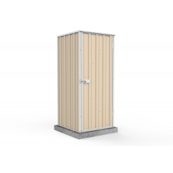 Absco Skillion Garden Shed Small Garden Sheds Colorbond 0.78m  x 0.78m x 1.80m 08081FK