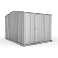 Absco Zinc Gable Garden Shed Medium Garden Sheds 2.25m x 3.00m x 2.06m 23301GK