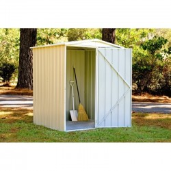 Absco Colorbond Gable Garden Shed Small Garden Sheds 1.52m x 1.44m x 1.95m 15141RK