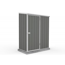 Absco Colorbond Skillion Garden Shed Small Garden Sheds 1.52m x 0.78m x 1.95m 15081SK