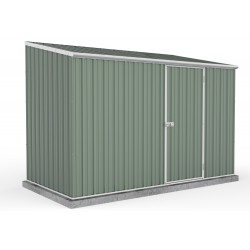Absco 30151SK 3.00m x 1.52m x 2.08m Single Door Skillion Garden Shed Large Garden Sheds Colorbond