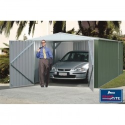 Absco 3045HK 3.00m x 4.48m x 2.30m Gable Garden Shed Large Garden Sheds Colorbond Double Door