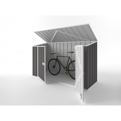 EasyShed Skillion Garden Bike Shed 2.25m x 0.78m x 1.34m EBS-2308