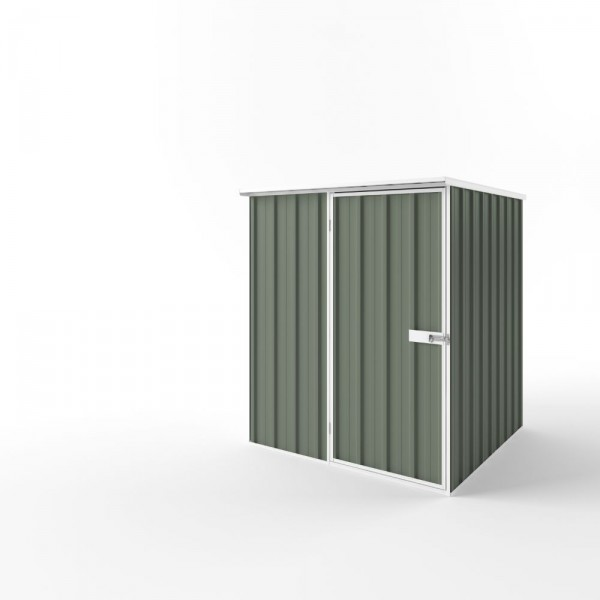 EasyShed Flat Roof Garden Shed Small Garden Sheds 1.50m x 1.50m x 2.12m ETF-S1515