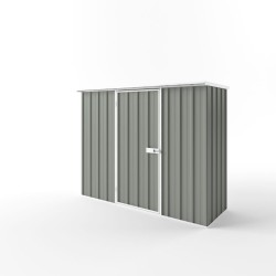 EasyShed Flat Roof Garden Shed Medium Garden Sheds 2.25m x 0.78mx 2.12m ETF-S2308